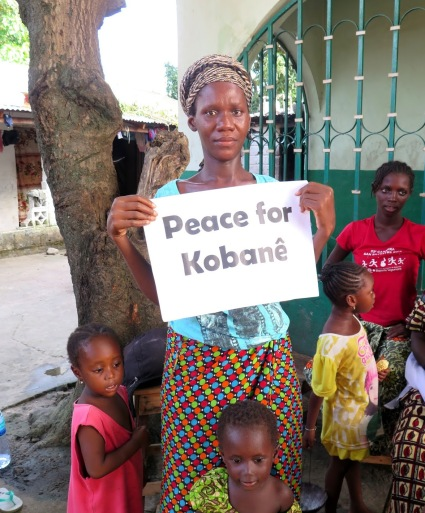 peace for kobane 1 novembre